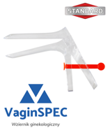 Gyneacological speculum AMED, CUSCO type, disposable, sterile