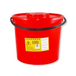Container for medical waste, plastic