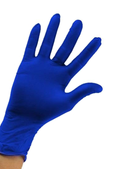 Diagnostic gloves NITRILE, powder-free, unsterile