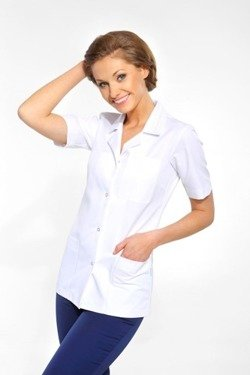 Women`s apron, short (long or short sleeve)